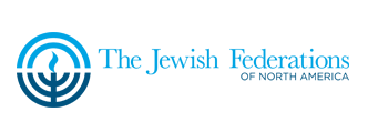 The Jewish Federations logo. Credit: The Jewish Federations of North America.