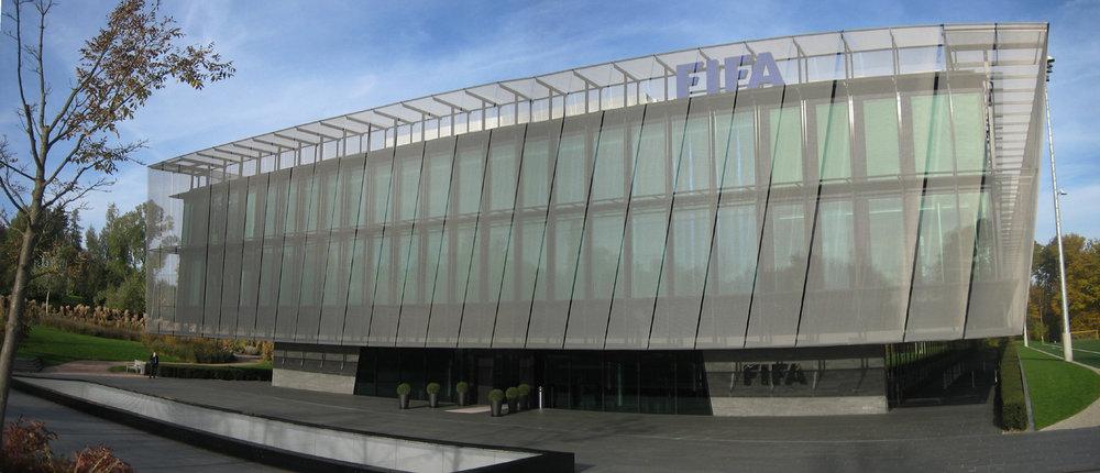 FIFA headquarters in Zurich, Switzerland. Credit: Wikimedia Commons.