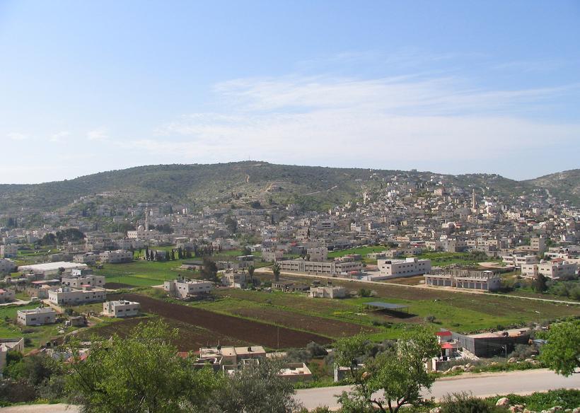 The Palestinian village of Kabatiya. Credit: Wikimedia Commons.
