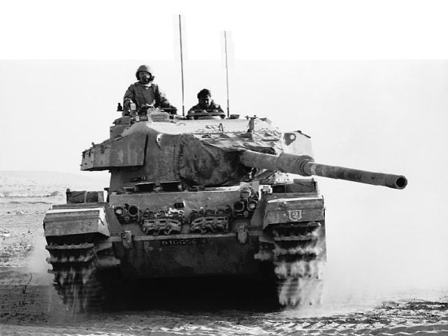 An Israeli centurion tank in the Sinai during the 1973 Yom Kippur War. Credit: Wikimedia Commons.