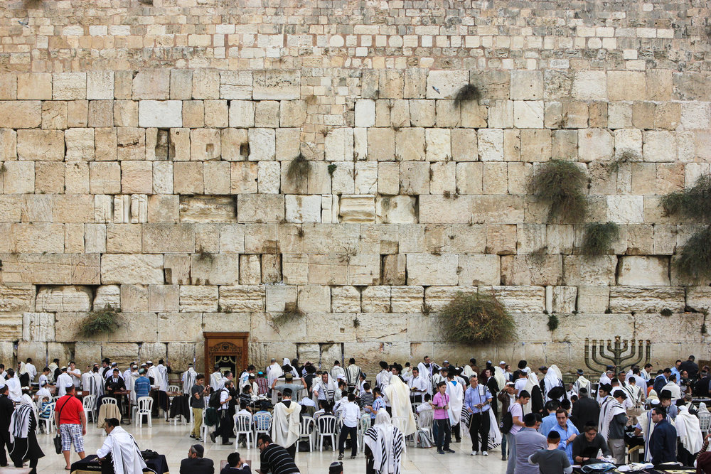 The Western Wall in the Old City of Jerusalem. Credit: Wikimedia Commons.