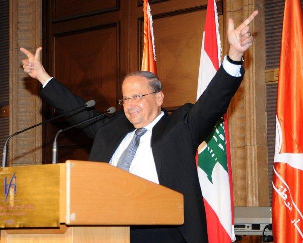 Lebanese President Michael Aoun. Credit: Wikimedia Commons.