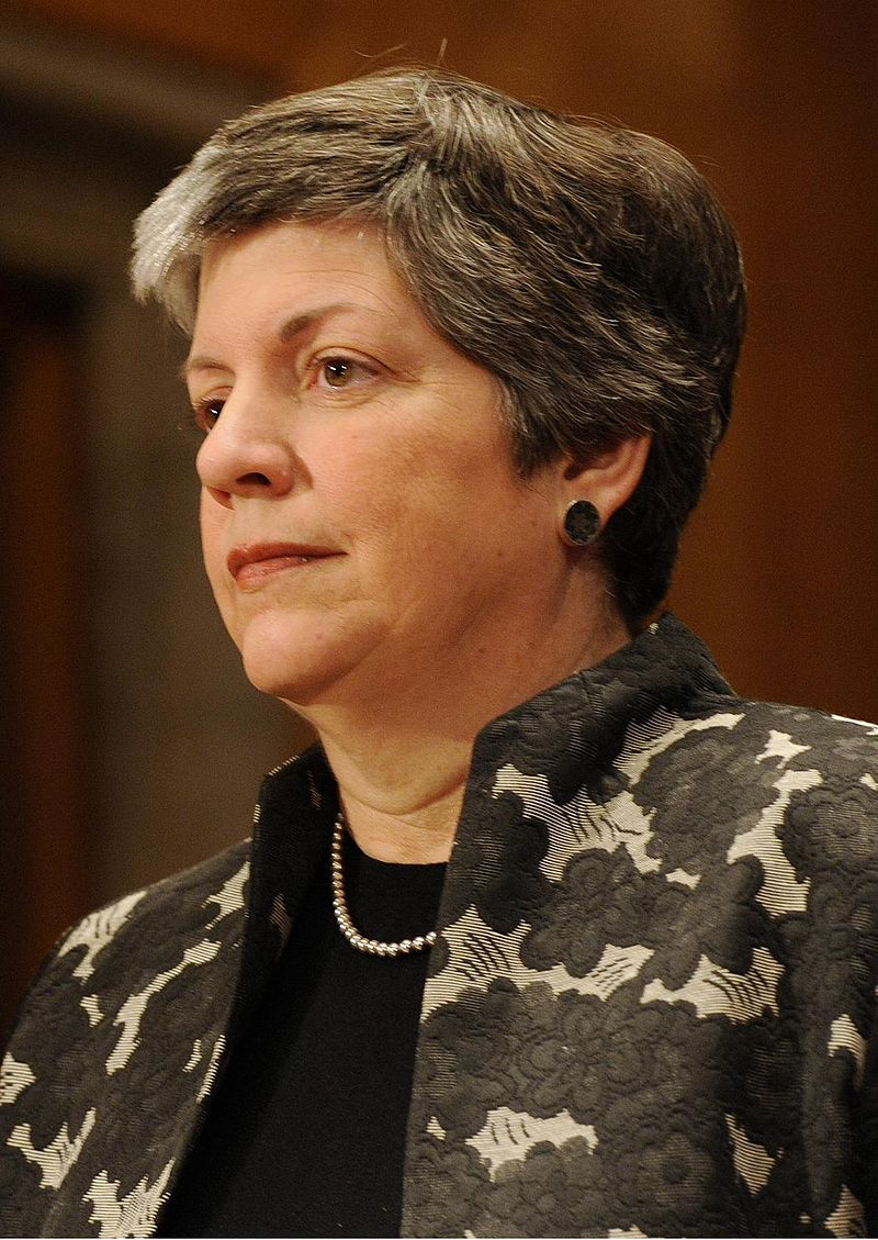University of California system president Janet Napolitano. Credit: Wikimedia Commons.