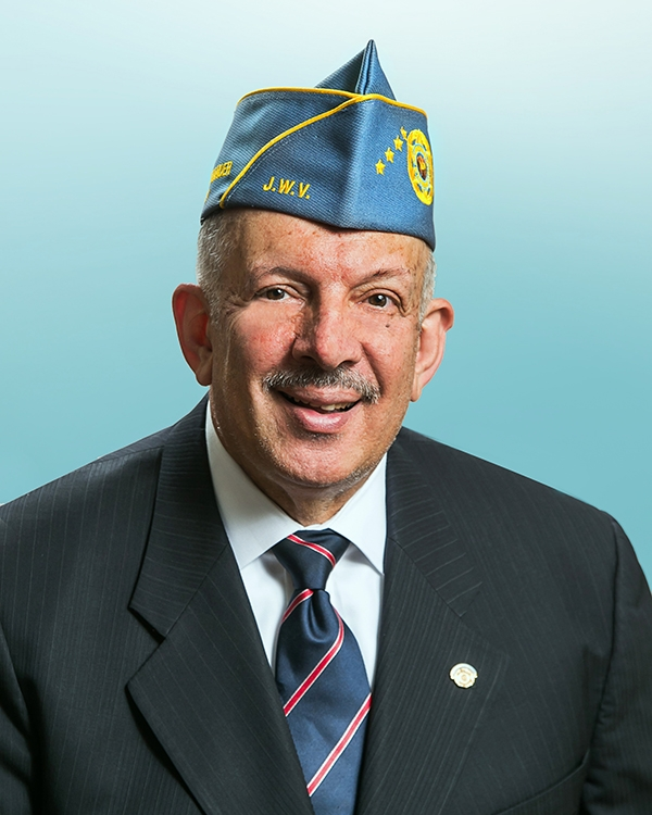 Carl A. Singer, national commander of the Jewish War Veterans. Credit: Jewish War Veterans of the USA.
