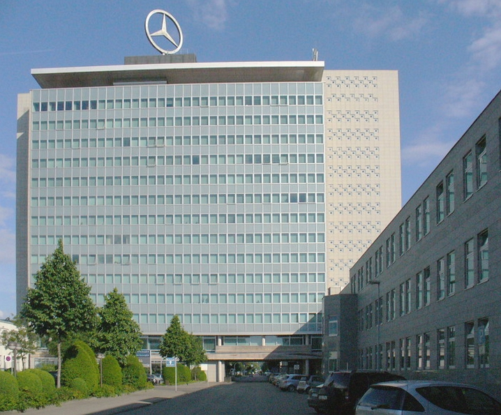 Daimler headquarters in Germany. Credit: Wikimedia Commons.