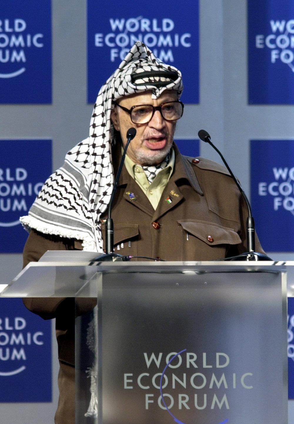 Yasser Arafat. Credit: World Economic Forum.