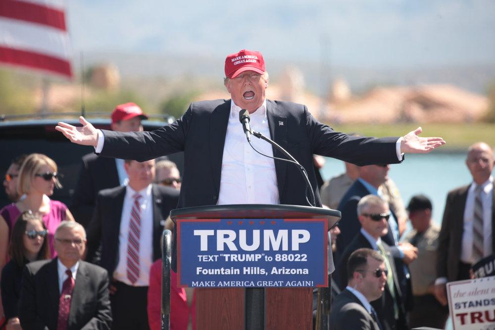 Donald Trump. Credit: Gage Skidmore via Wikimedia Commons.