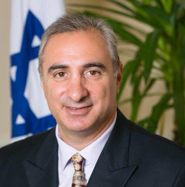 Eitan Na'eh, an Israeli diplomat who is slated to be the next Israeli ambassador to Turkey. Credit: Twitter.