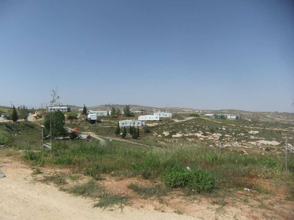 The Amona outpost in Samaria. Credit: Wikimedia Commons.
