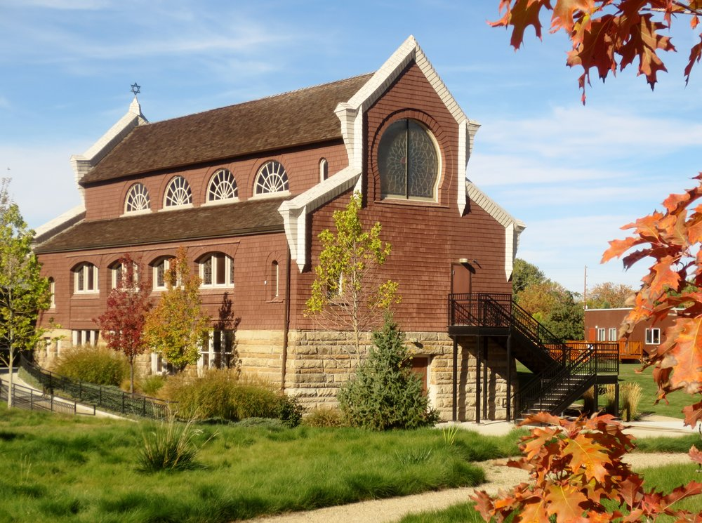 Boise's Ahavath Beth Israel, the oldest continuously in-use synagogue west of the Mississippi. Credit: Dan Fellner.