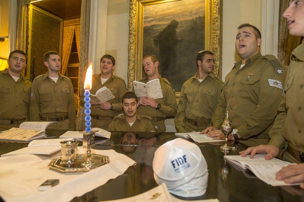 FIDF's recent leadership mission to Israel. Credit: FIDF.