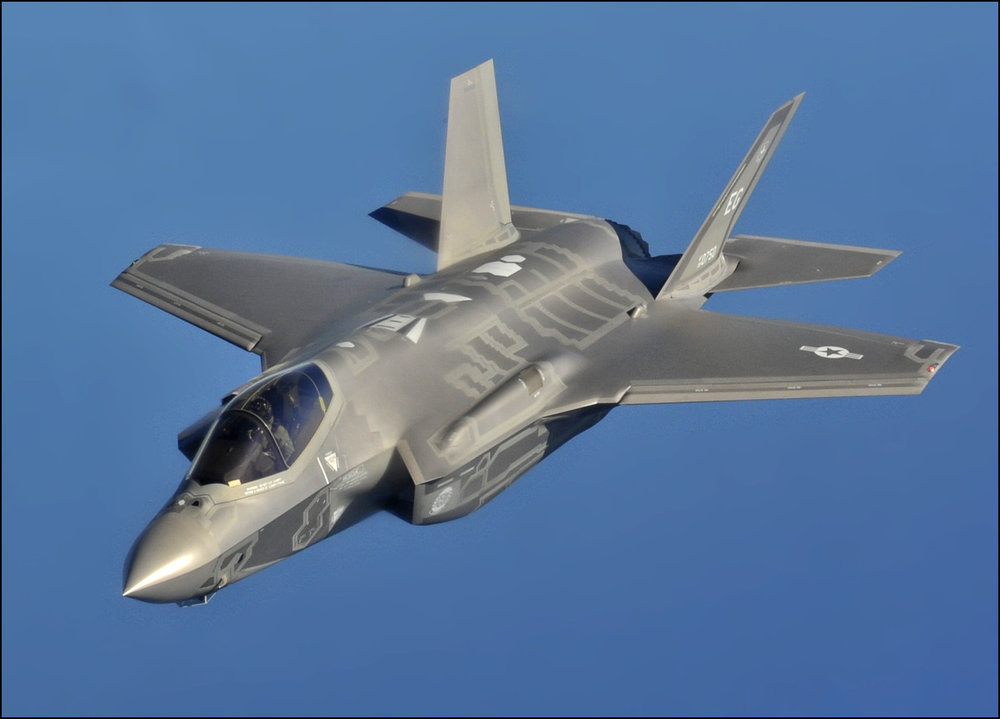 An F-35 fighter jet. Credit: U.S. Air Force photo by Master Sgt. Donald R. Allen.