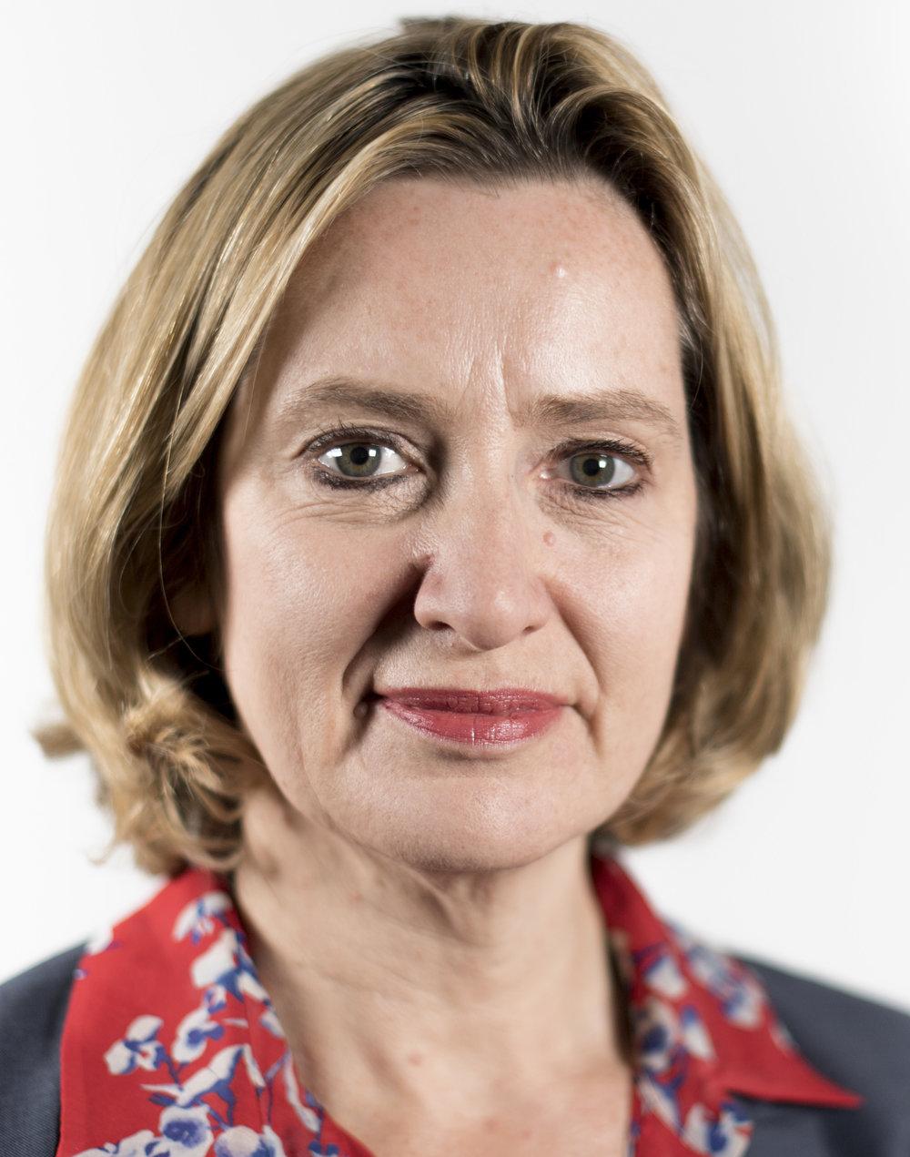 United Kingdom Home Secretary Amber Rudd. Credit: Government of UK via Wikimedia Commons.
