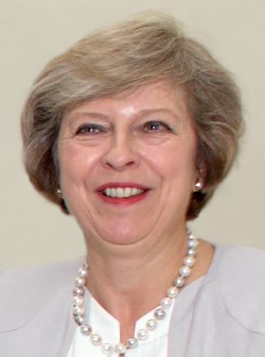 British Prime Minister Theresa May. Credit: Wikimedia Commons.