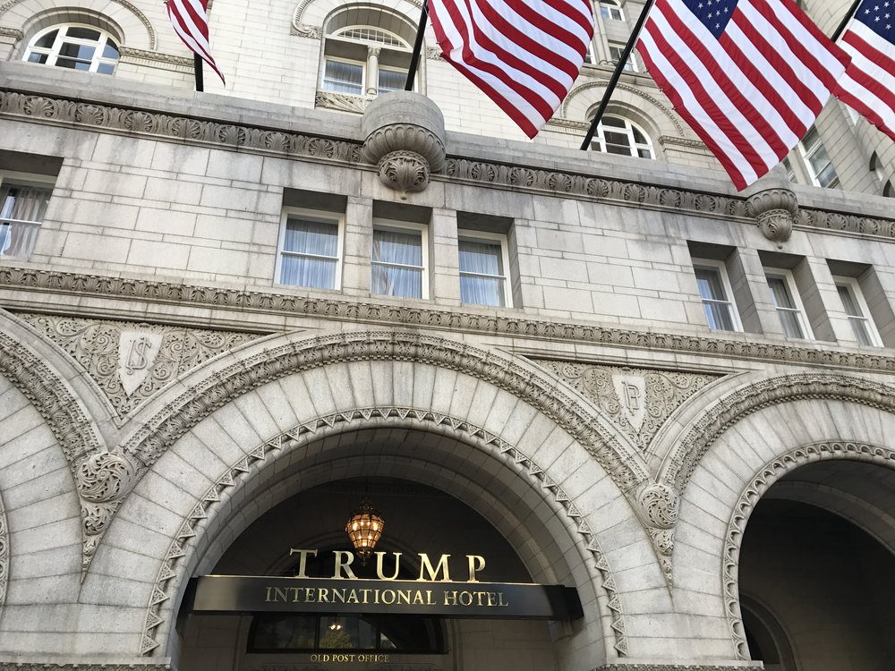 The Trump International Hotel in Washington, D.C. Credit: Indianz Com via Flickr.com.