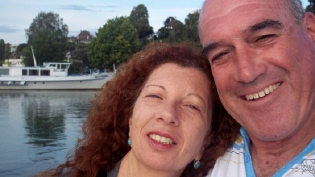 Israelis Dalia and Rami Elyakim were victims of the Dec. 19 Berlin terror attack. Dalia was killed and Rami was seriously injured. Credit: Facebook.