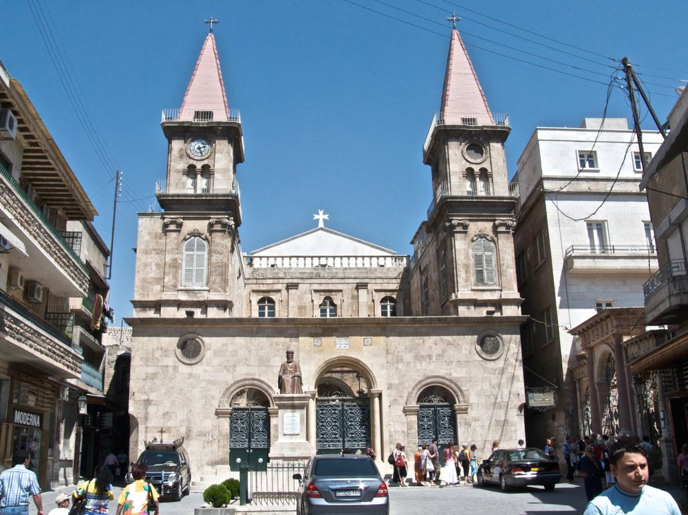 A Maronite Christian church in Aleppo prior to the Syrian civil war. Credit: Wikimedia Commons.