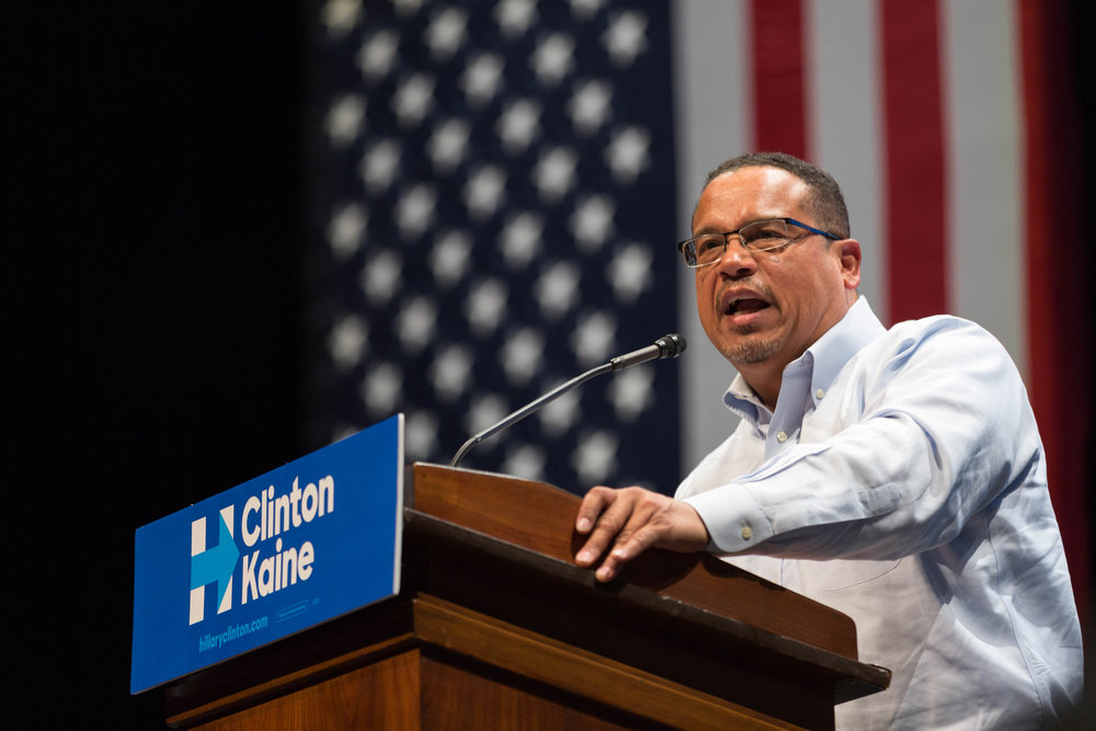 The bid of Minnesota's U.S. Rep. Keith Ellison (pictured) to become chairman of the Democratic National Committee has been met with significant Jewish opposition over Ellison's views on Israel. Credit: Lorie Shaull via Wikimedia Commons.
