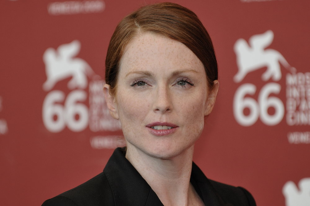 "Julianne Moore (pictured) won the Academy Award for Best Actress for her role in ""Still Alice,"" which was co-produced by Elizabeth Gelfand Stearns. ""Still Alice"" has been an important conversation starter in the Alzheimer's community and particularly for The Judy Fund, an organization led by Stearns. Credit: Nicolas Genin via Wikimedia Commons."