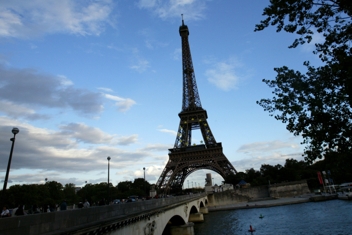 The Eiffel Tower in Paris Sept. 9, 2008. Credit: Olivier Fitoussi/Flash90.