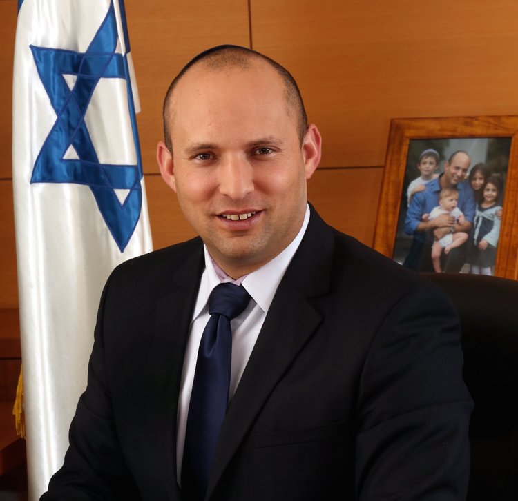 Jewish Home party leader Naftali Bennett. Credit: Spokesperson of The Ministry of Economy.