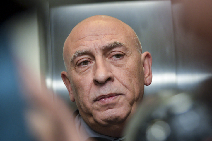 Joint Arab List Member of Knesset Basel Ghattas arrives for a court hearing at the Rehovot Magistrate's Court, Jan. 5, 2017. Credit: Avi Dishi/Flash90.