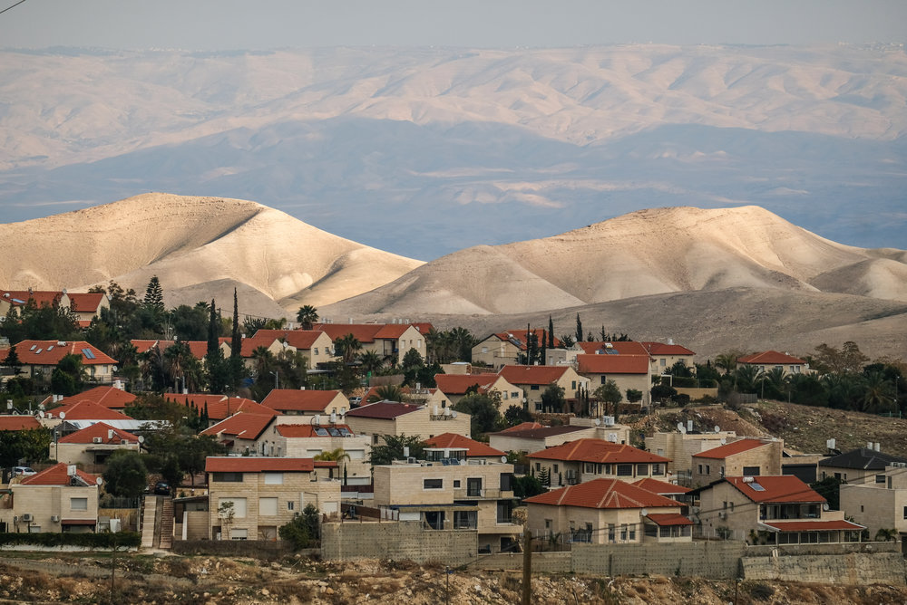 A view of the Israeli settlement of Ma'ale Adumim Jan. 4, 2017. Credit: Yaniv Nadav/Flash90.