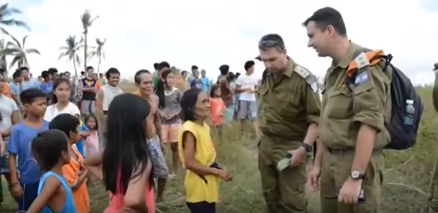 """A scene from """"Superman's Got Nothing On Israel,""""the winning entry in last year's """"Inspired by Israel"""" video contest. Credit: YouTube."""