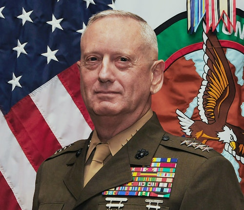 Secretary of Defense-designate James Mattis. Credit: U.S. CENTCOM.