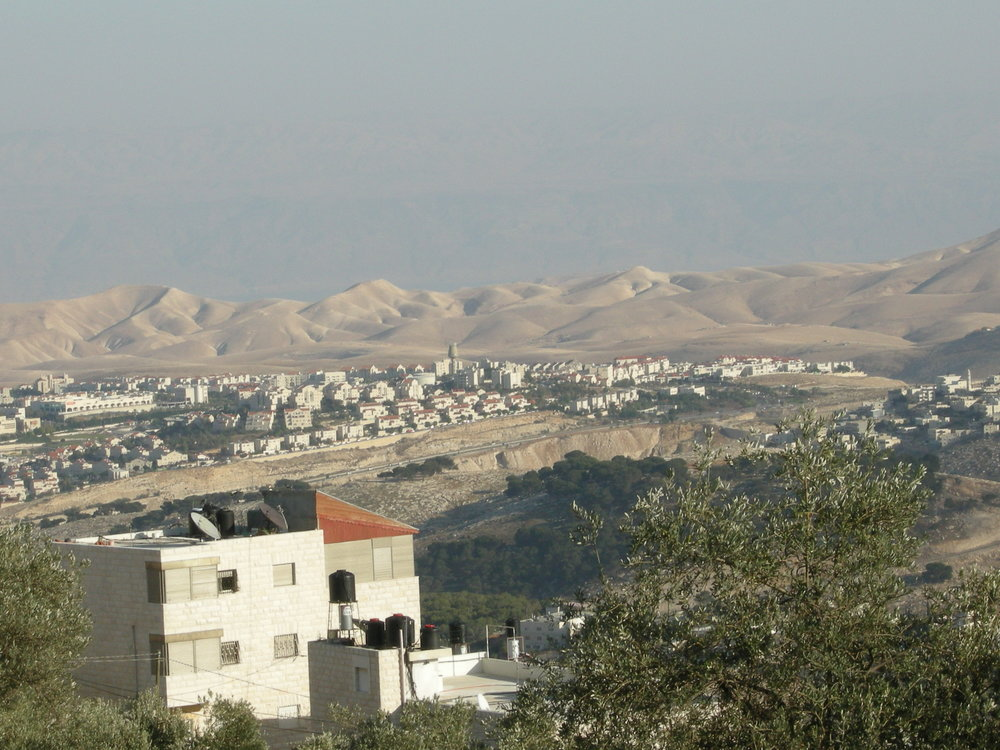 A view of Ma'ale Adumim. Credit: Yoav Dothan via Wikimedia Commons.