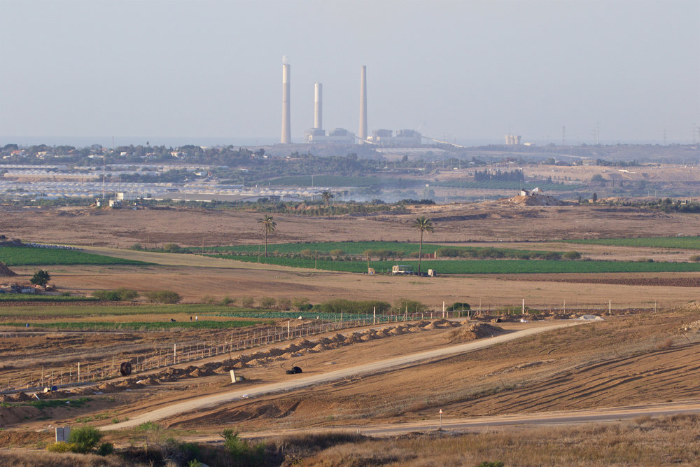 The northern Gaza Strip from an observation point in southern Israel. Credit: Doron Horowitz/Flash90.