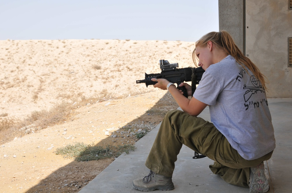 "Sarit Petersen, an Israel Defense Forces (IDF) soldier who is pictured here, several years ago was named one of ""8 Female Soldiers Who Shattered Barriers in 2013."" Credit: IDF."