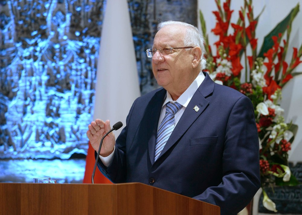 Israeli President Reuven Rivlin. Credit:Mark Neyman/GPO.