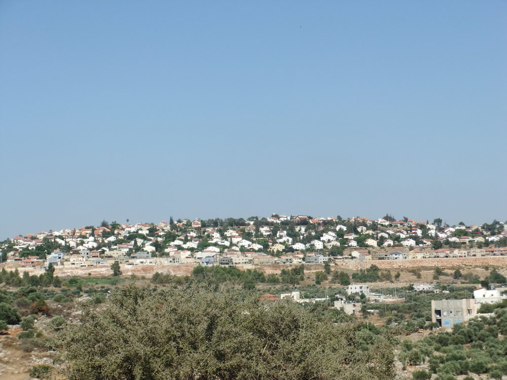 Tuesday's approval for new construction in Judea and Samaria included 650 new homes in Beit Aryeh (pictured), north of Jerusalem. Credit: Wikimedia Commons.