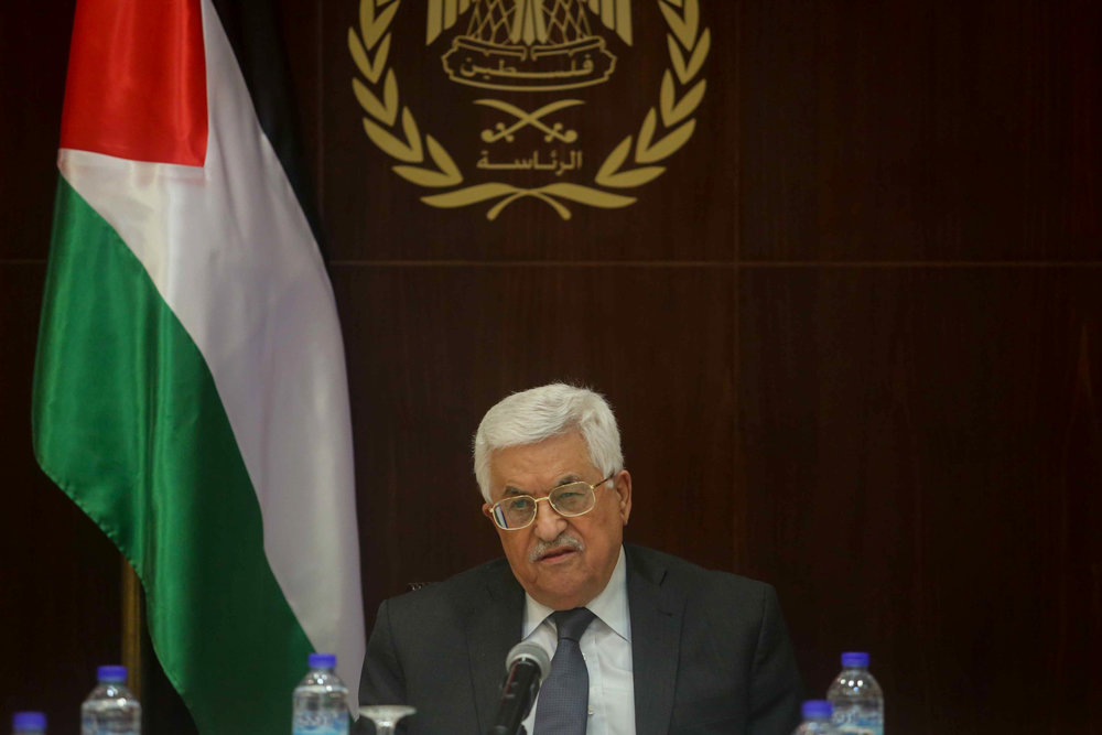 Palestinian Authority President Mahmoud Abbas. Credit: Flash90.