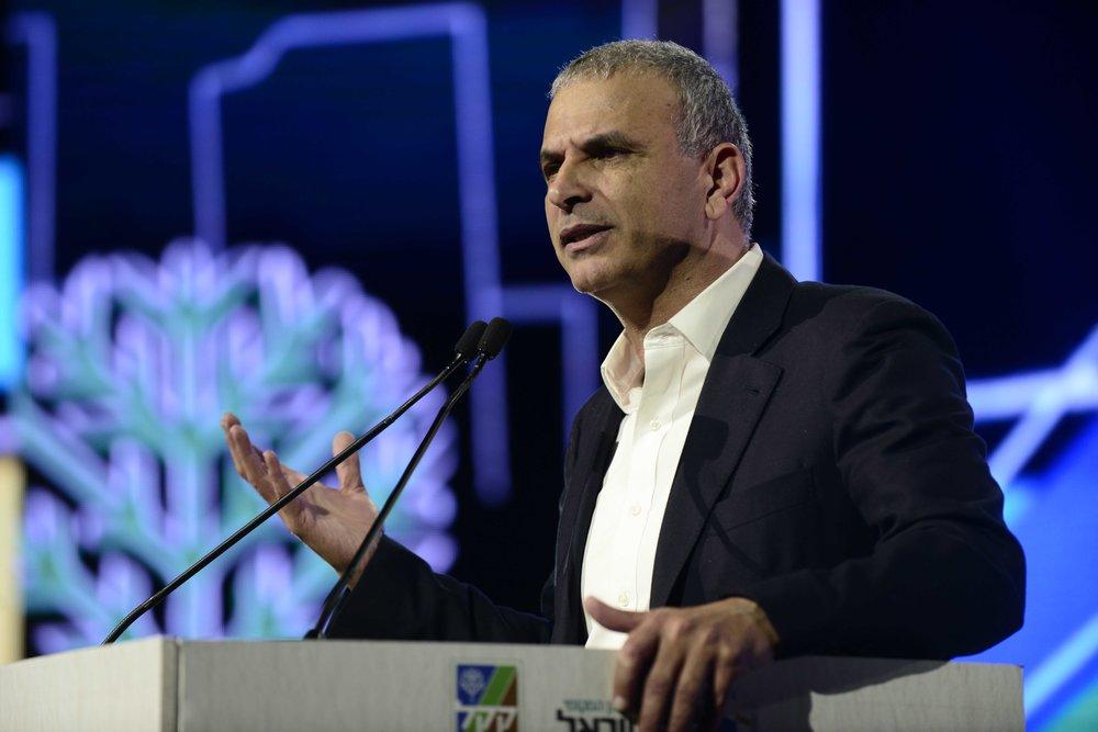 Israeli Minister of Finance Moshe Kahlon. Credit: Tomer Neuberg/Flash90.