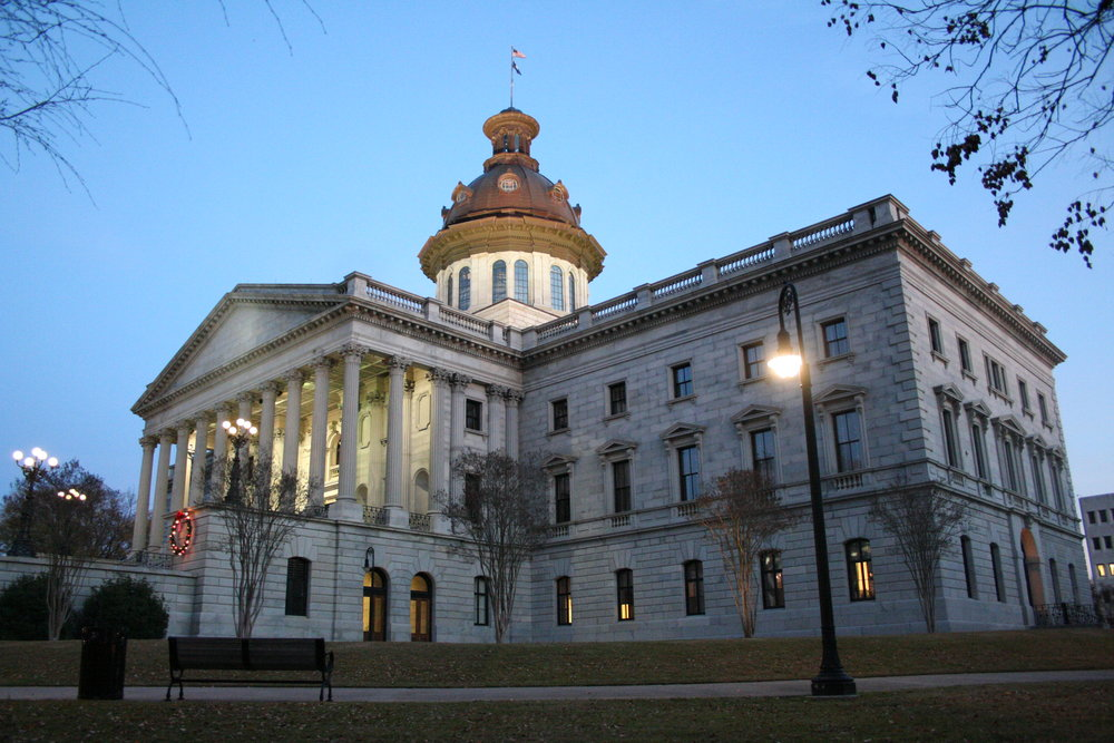 The South Carolina State House. Credit: Wikimedia Commons.