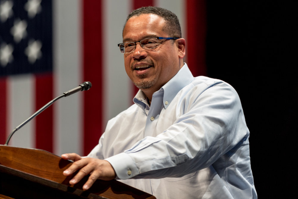 U.S. Rep. Keith Ellison (D-Minn.), the new deputy chairman of the Democratic National Committee. Credit: Lorie Shaull via Wikimedia Commons.