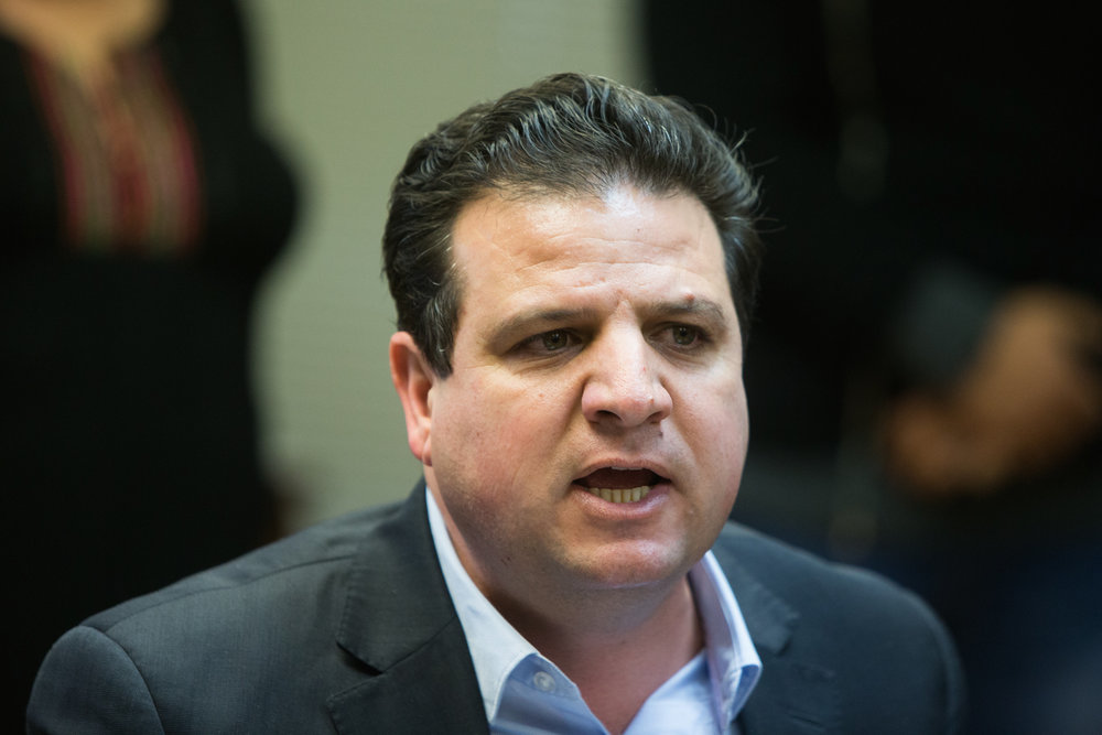 Member of Knesset Ayman Odeh, leader of the Joint Arab List party. Credit: Yonatan Sindel/Flash90.