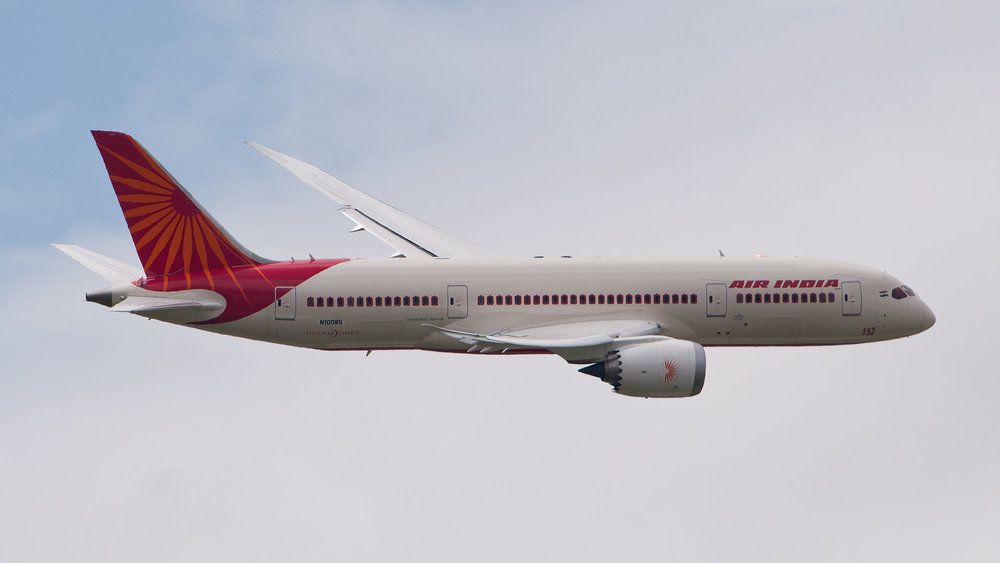 An Air India jet. Credit: Wikimedia Commons.
