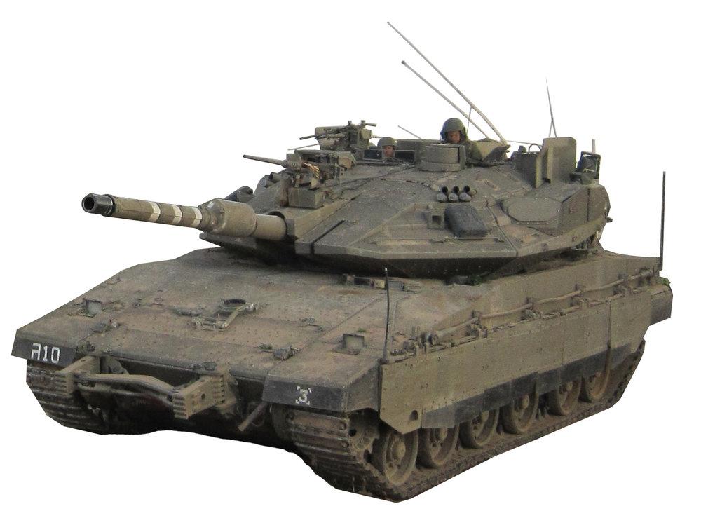 An Israel Defense Forces (IDF) Merkava Mk 4m Windbreaker tank. Credit: IDF.