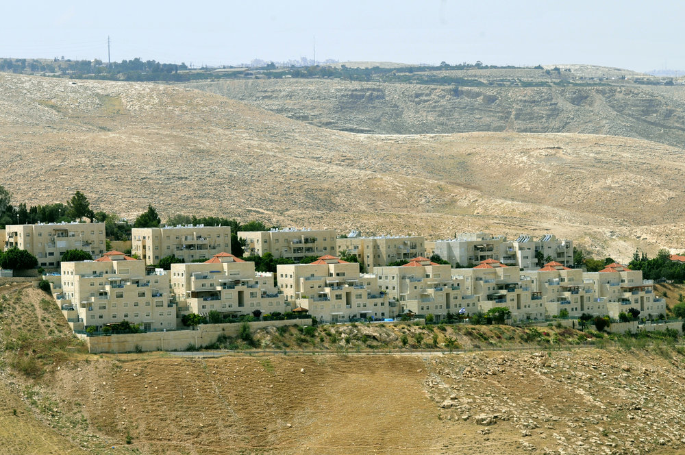 The Israeli settlement of Ma'ale Adumim. Credit: Serge Attal/Flash90.