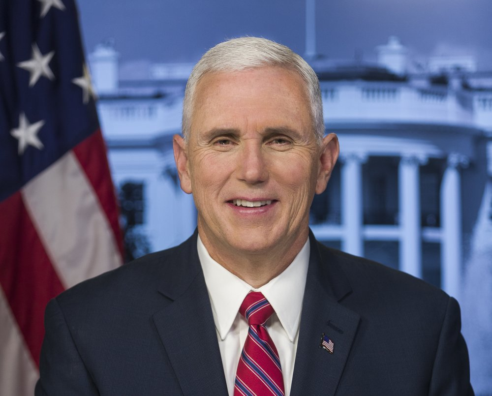 Vice President Mike Pence (pictured) will address AIPAC's 2017 policy conference. Credit: White House.