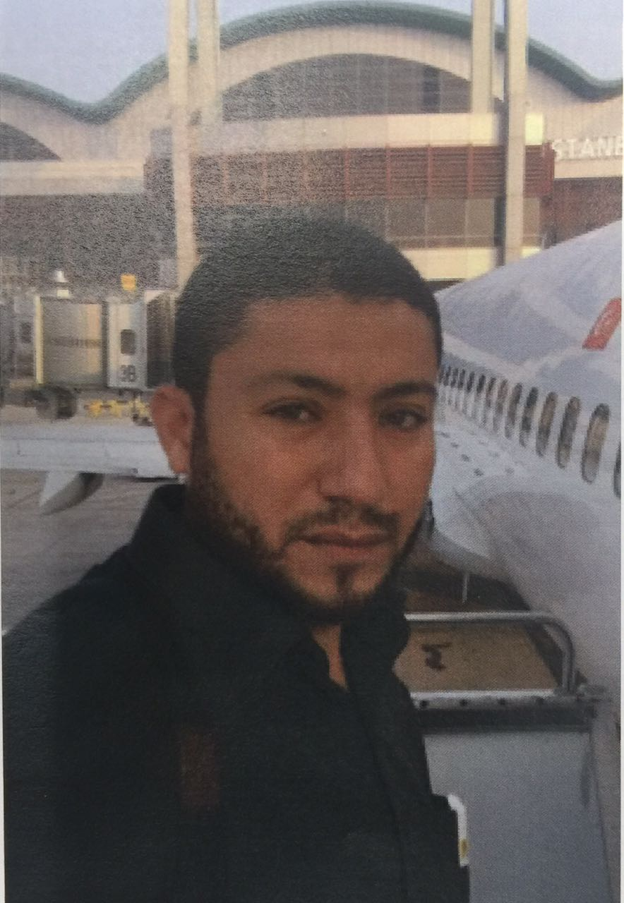 Muhammad Murtaja (pictured) was arrested for allegedly funneling funds earmarked for reconstruction efforts to Hamas's military wing. Credit: Shin Bet.