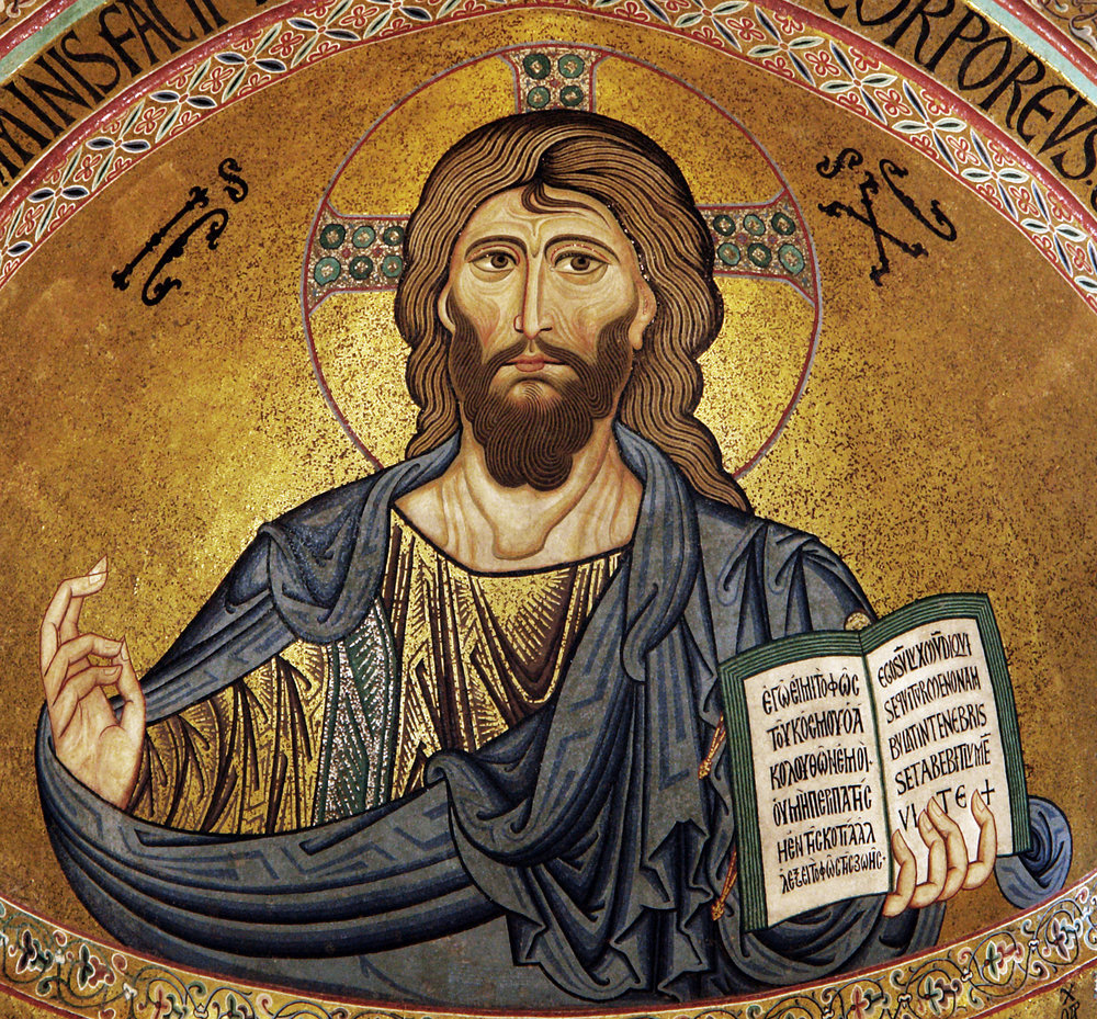 A mosaic depicting Jesus Christ. Credit: Andreas Wahra via Wikimedia Commons.