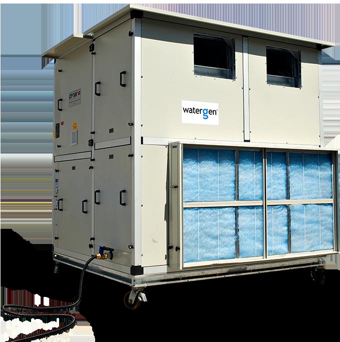 A Water-Gen large-scale water generator. Credit: Water-Gen.