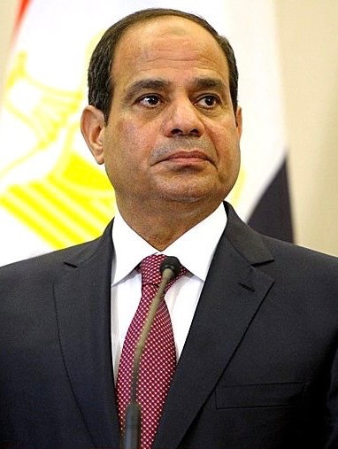Egyptian President Abdel Fattah El-Sisi. Credit: Kremlin.ru via Wikimedia Commons.