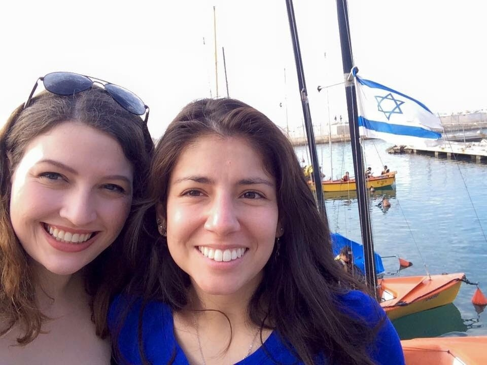 Stanford University alums Miriam Pollock (left) and Molly Horwitz (right) claim that Stanford Hillel staffers attempted to thwart efforts to expose campus anti-Semitism. Credit: Courtesy Miriam Pollock.