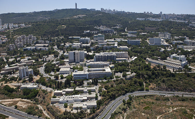 The campus of Haifa's Technion - Israel Institute of Technology. Credit: Wikimedia Commons.