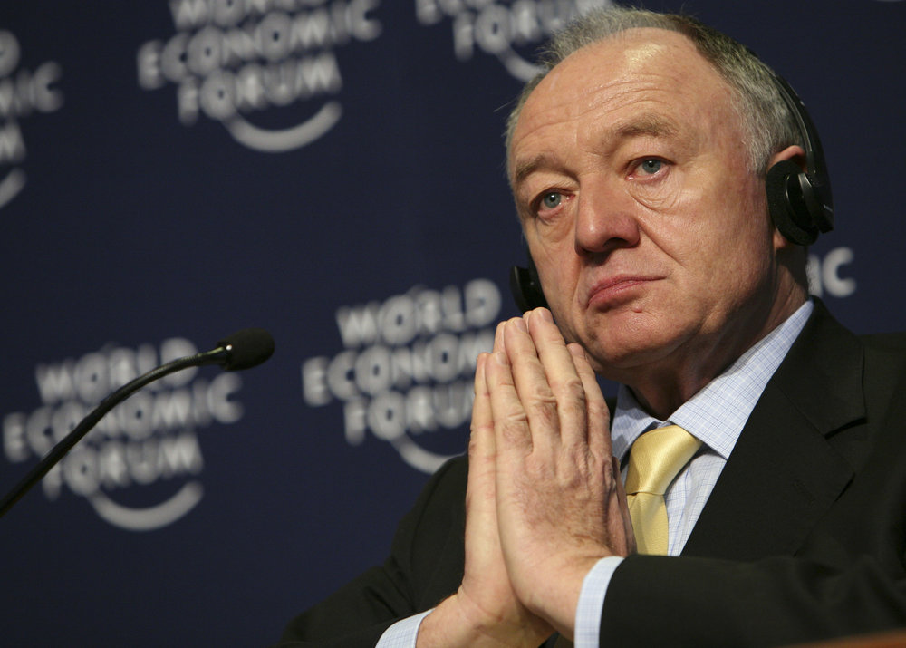 Former London Mayor Ken Livingstone. Credit: World Economic Forum.